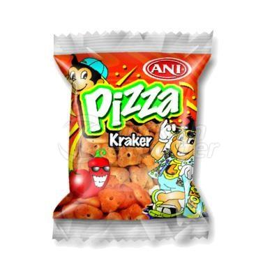 Pizza- Flavored Crackers