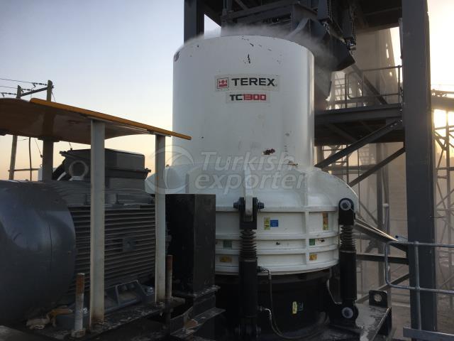 Terex TC 1300 Cone Crusher