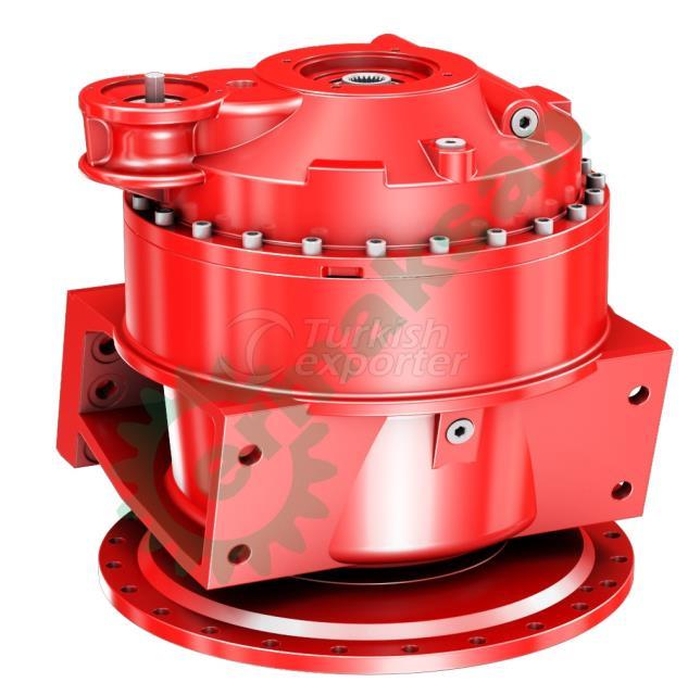 Transmixer gearbox