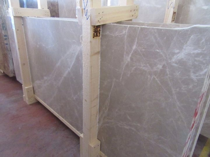 CREAM TWSTONE MARBLE SLAB