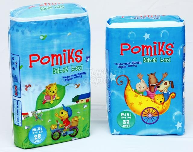 Pomiks Animation Baby Diaper