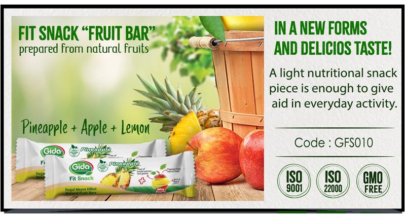 Pineapple Fruit Bar