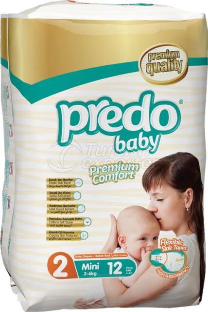 Baby Diapers Predo Standard Mini