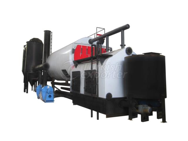 Steam Systems With Front Furnace