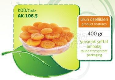 Apricot seco sulfuroso AK 106.S 400gr