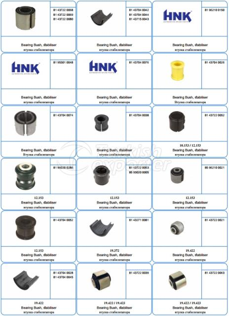 Rubber Mounting And Hose Parts