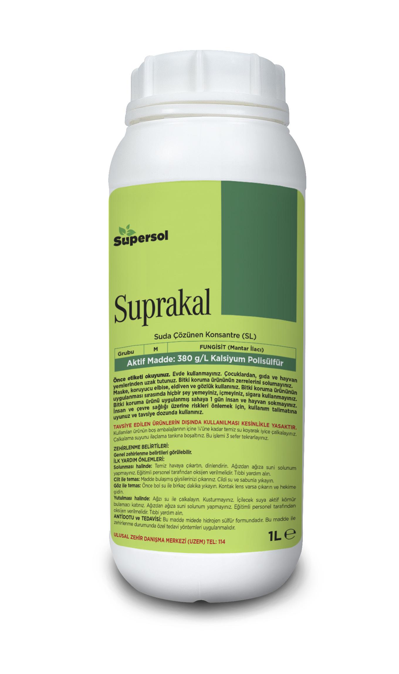 SUPRAKAL (Plant Protection)380 g/L Calcium polysulphide FUNGICIDE