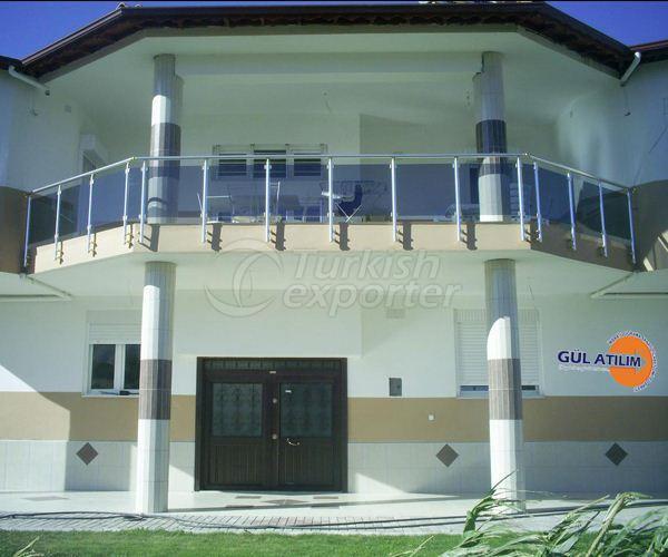 Aluminium Guardrail  04