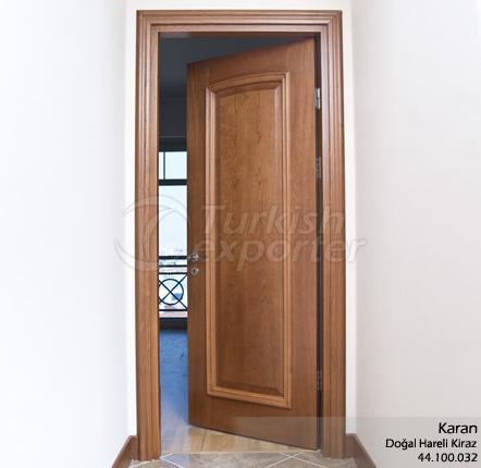 Porte en bois Karan