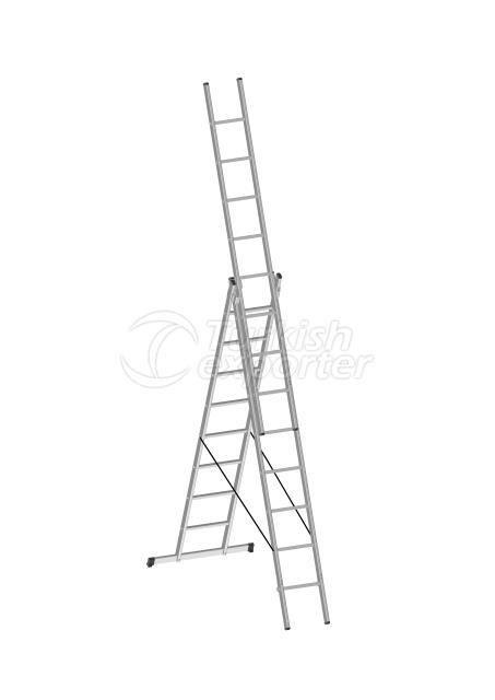 Aluminium Ladders Triple Part