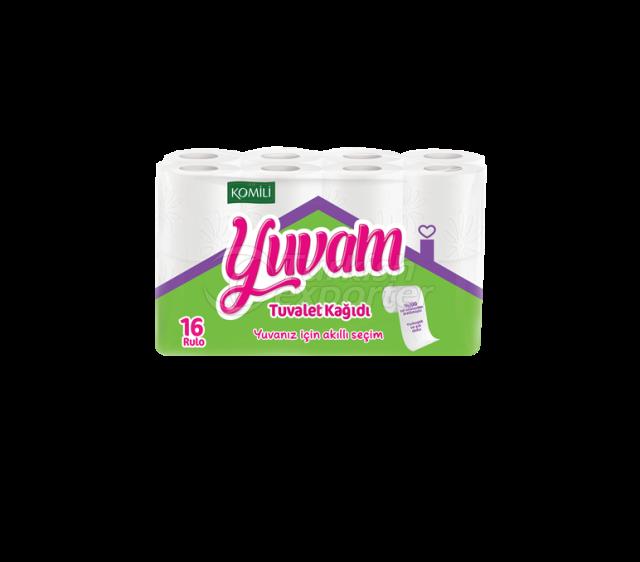 Papel higiénico Yuvam 16 rollos