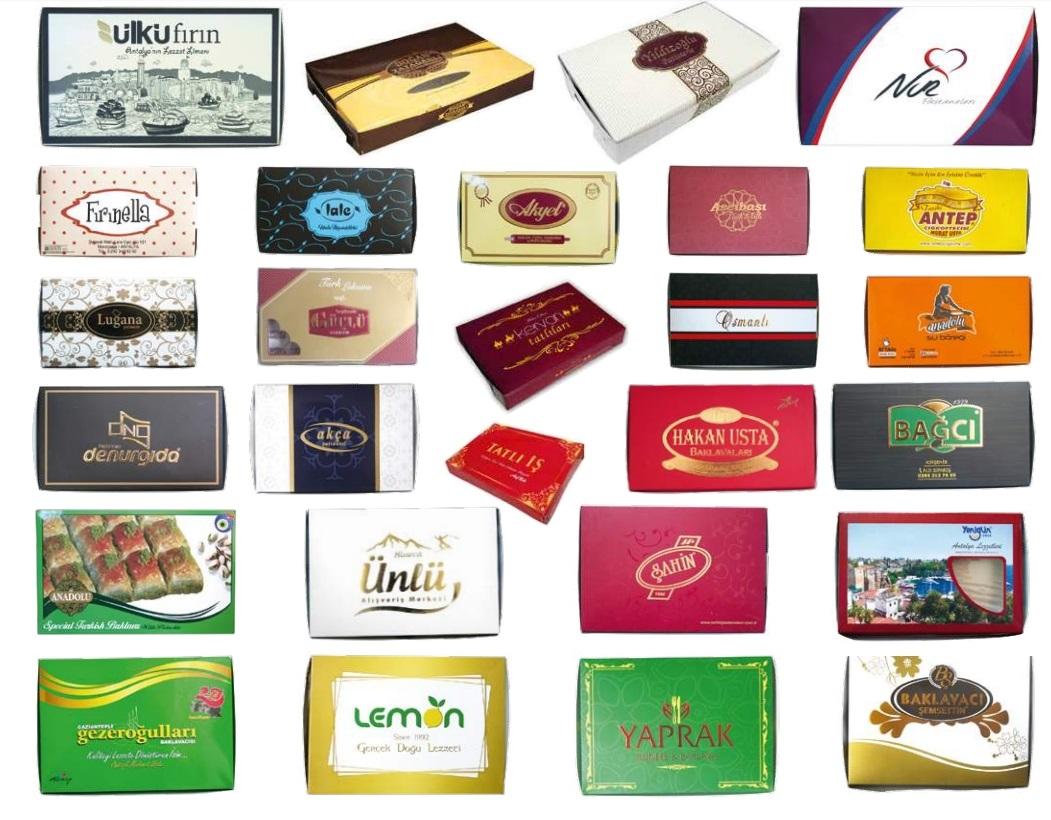 Special Printed Baklava Boxes