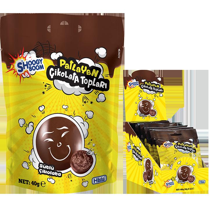 SHOOGY BOOM POPPING CHOCOLATE BALLS