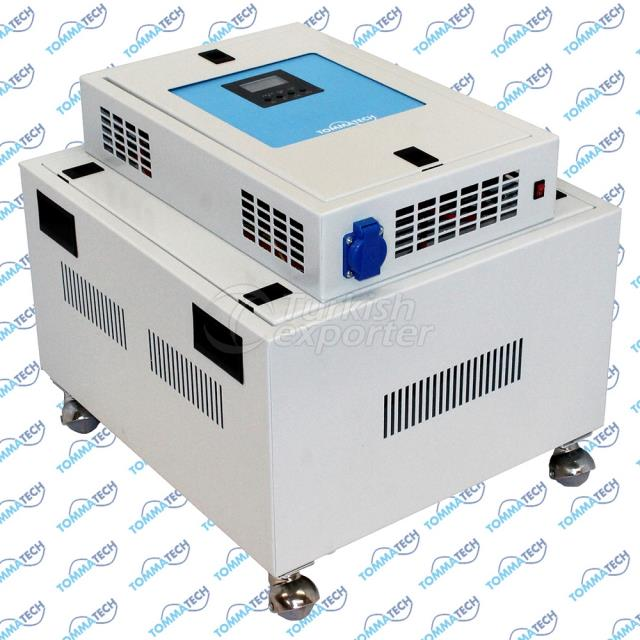 3000W 24V 2P-3P-4P-6P Hybrid Solar Power Box