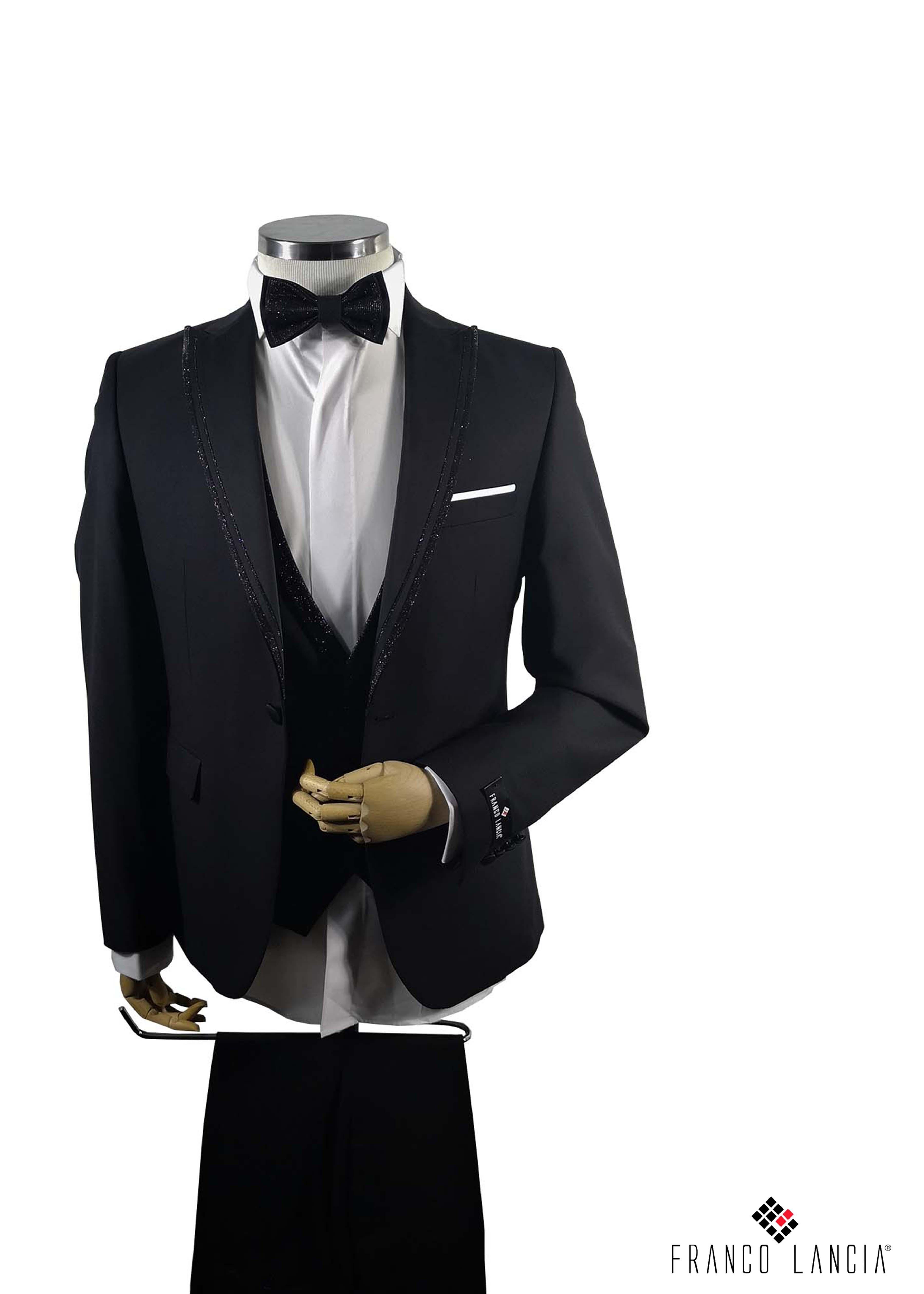 Single Breasted Black Tuxedo