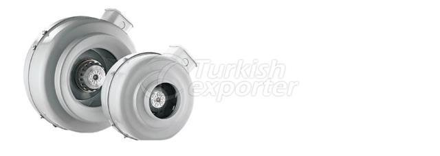 Ventilador de duto redondo ADTX