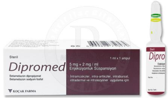 DIPROMED 5 MG ampoule