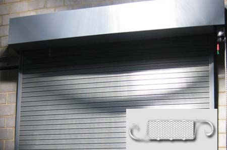 Insulated Automatic Steel Shutter