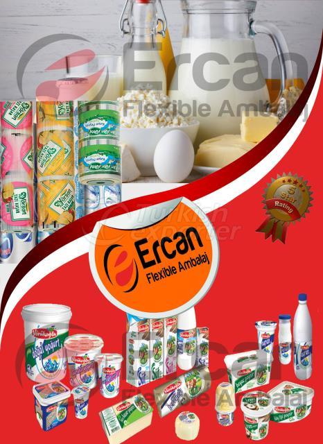Produits laitiers Emballage