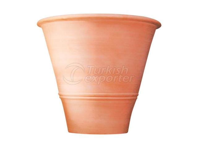 Terracotta Pots Flat Italy
