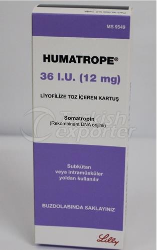 HUMATROPE 12MG (36 IU) CARTRIDGE