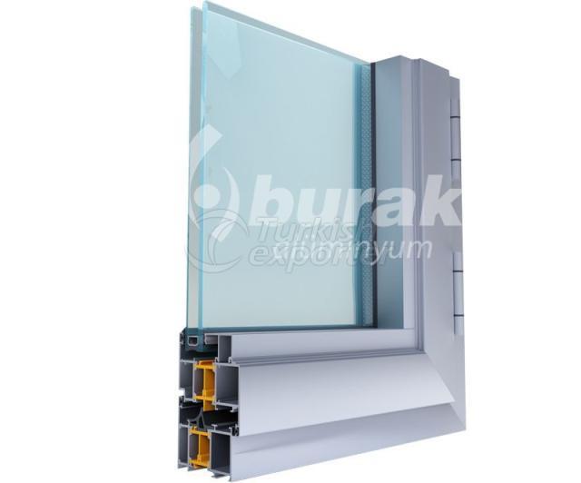 أنظمة الأبواب والنوافذ Y-70