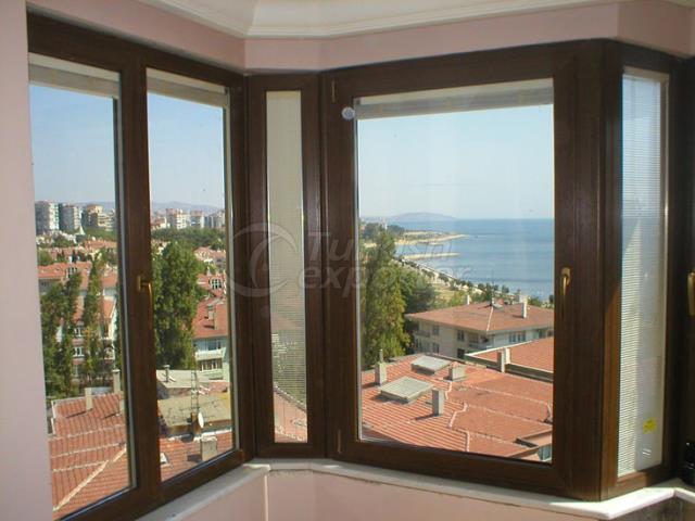 Puerta y ventana de PVC
