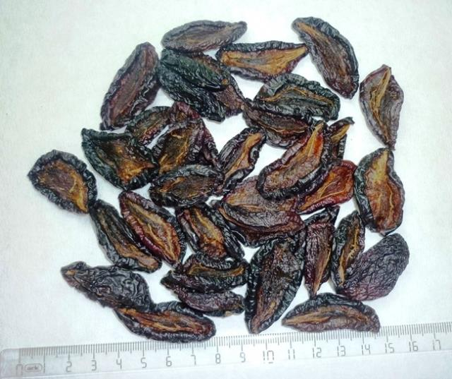 Ameixas secas orgânicas