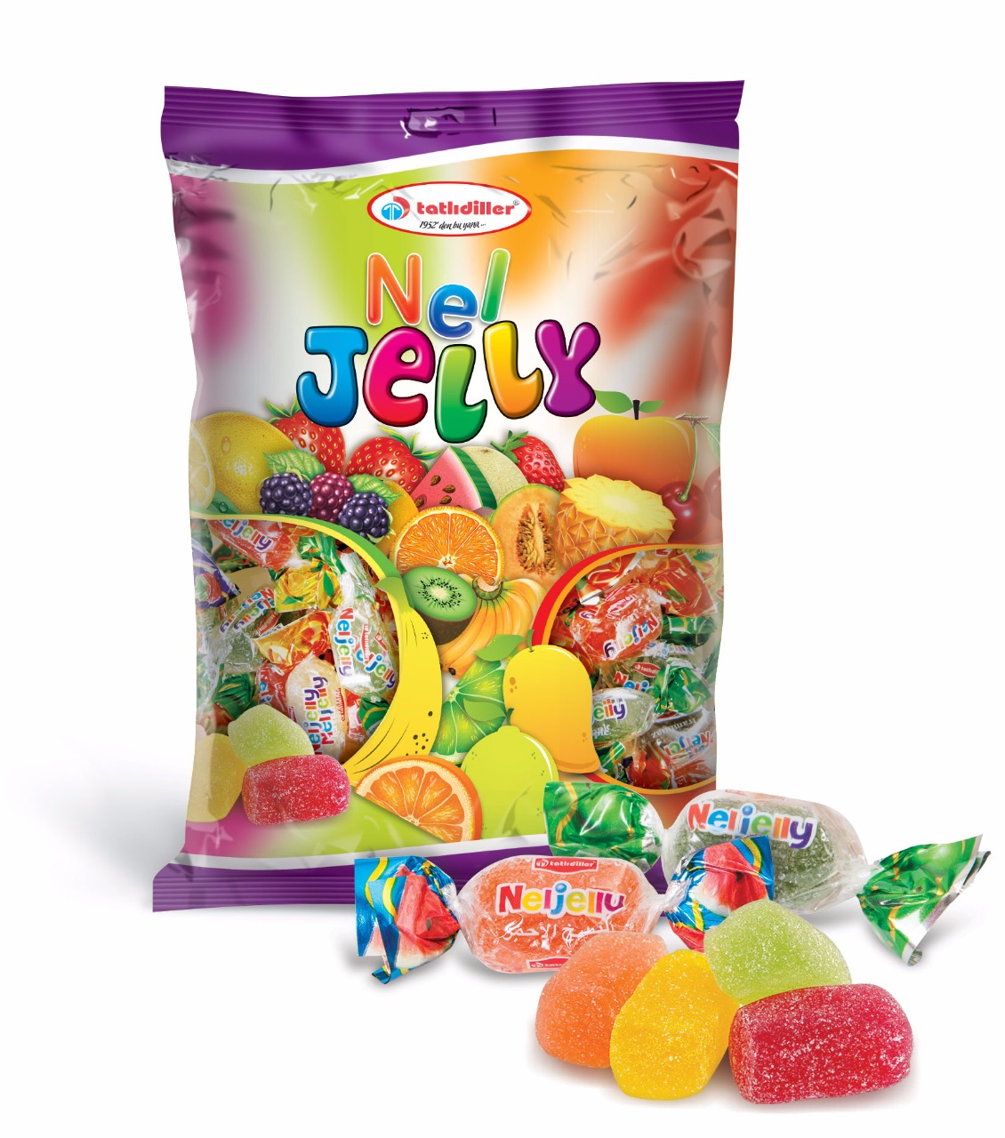Nel Jelly Polybag 1000gr