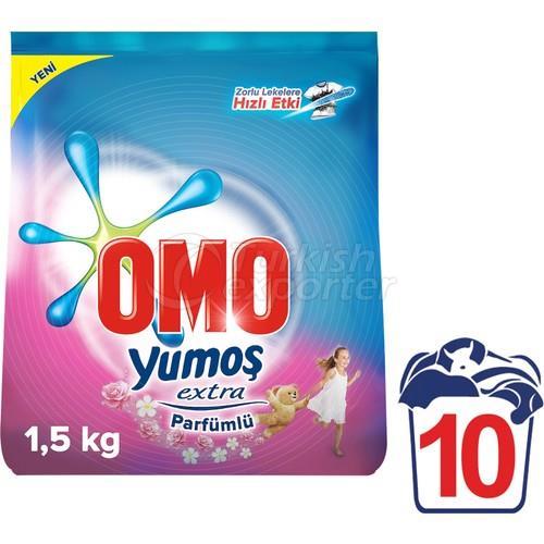 OMO DETERGENTE YUMOSH FLORAL 1,5KG
