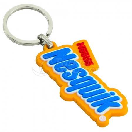 Porte-clés 3D en PVC