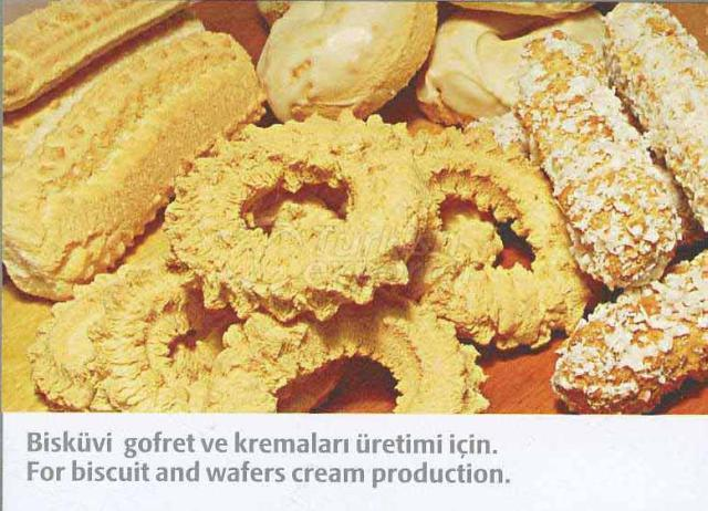 For Biscuit and Wafers Cream Production