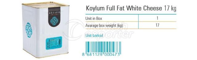 Koylum Full Fat White Cheese 17kg
