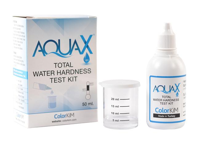 AQUAX® Total Water Hardness Test Kit