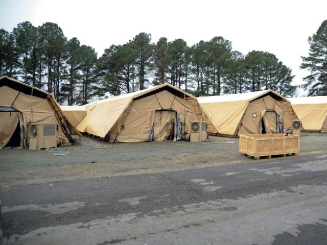 Military Type Tents