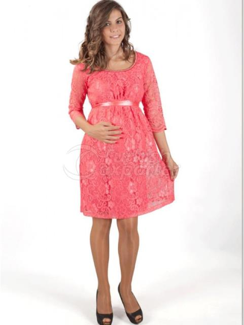 Maternity Evening Dress Laced