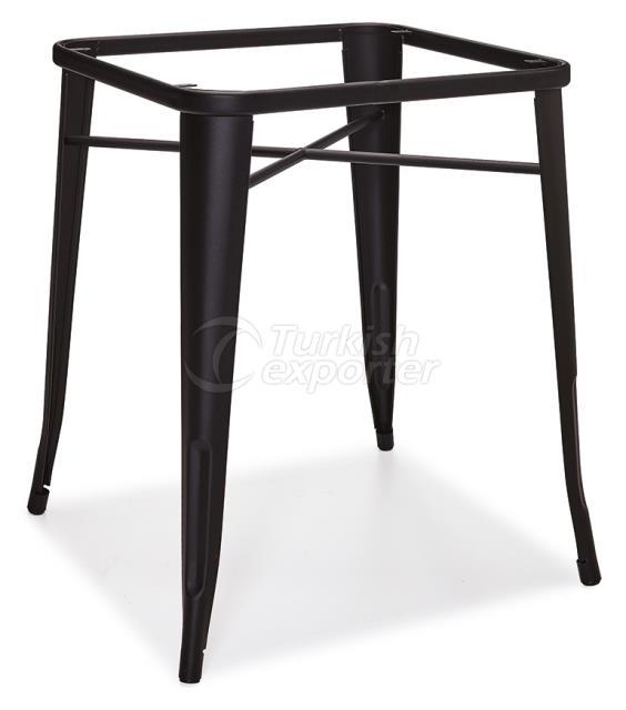 DCS-254-Square Table Leg Metal