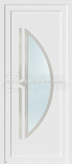 Inox PVC Kapı Panelleri 20005