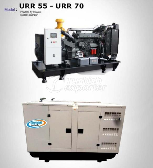Diesel Generator - URR 55 - URR 70