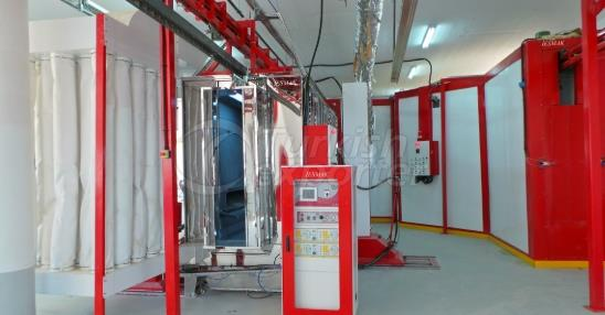 Stainless Steel Painting Booth