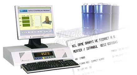 Terminal numérique de pesage et d'étiquetage LL2-WT-L