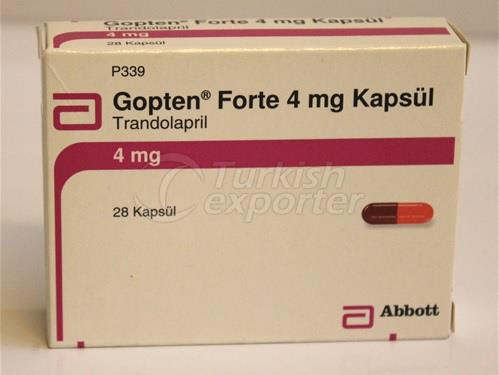 GOPTEN 2 MG AND 4 MG 28 CAPSULES