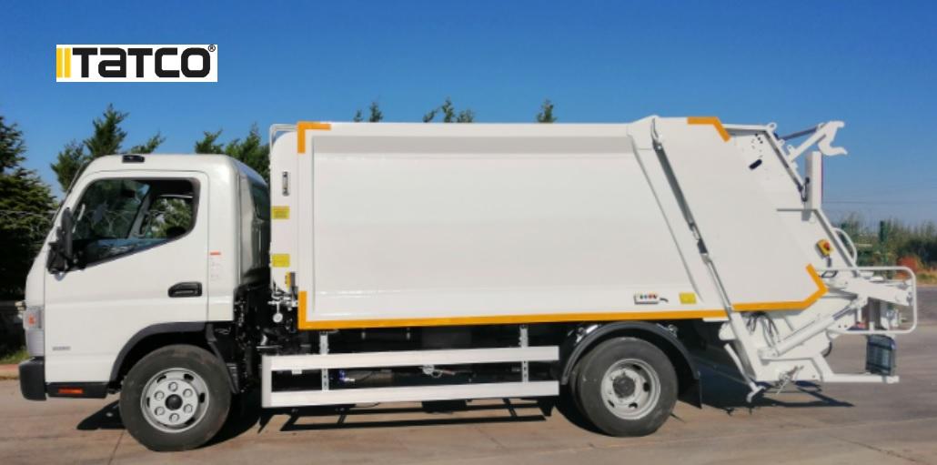 شاحنة النفايات