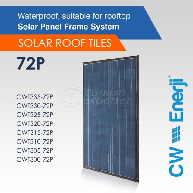 CWT Solar Roof Tile 72P 300-335 Wp