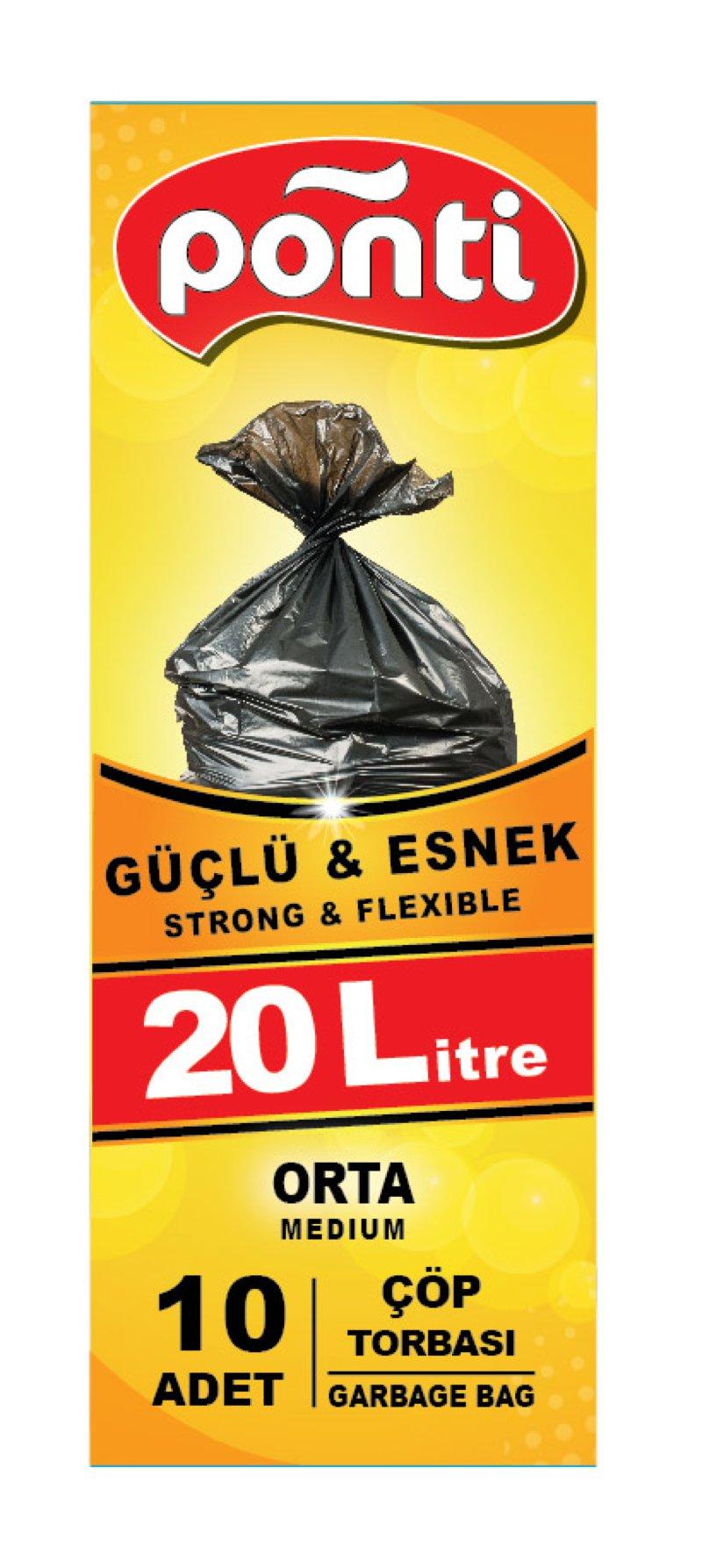 20L Medium Garbage Bag