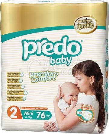 Fraldas para Bebês Predo Jumbo Mini