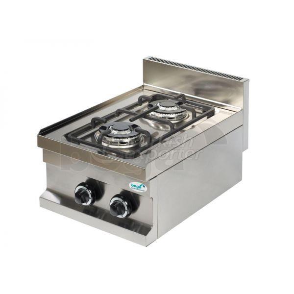 طباخ غاز 2 شعلات كونترتوب