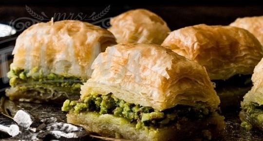 Traditional Desserts - Baklava With Pistachio