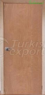 Puerta de madera chapada LK 106