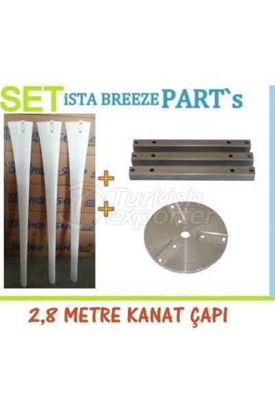 Complete Blade Set 103cm